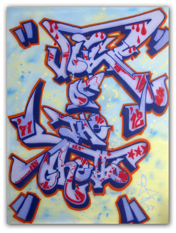 "IVORY  ""Voice of The Ghetto"" Painting"