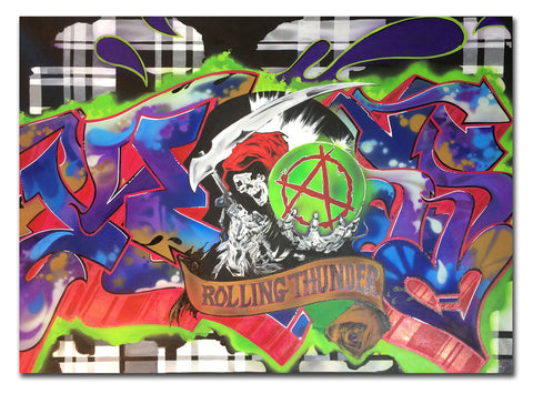 "KLASS RTW "" Sons of Anarchy""  Painting"