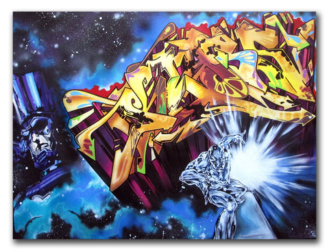 KLASS RTW  - Silver Surfer - Painting
