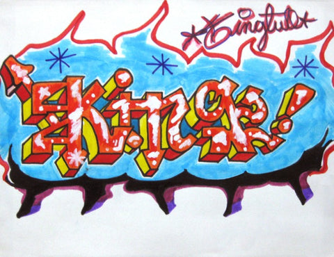 "KING 2  ""Black Book Piece"""