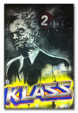 "KLASS RTW  -  ""Two Face""  Painting"
