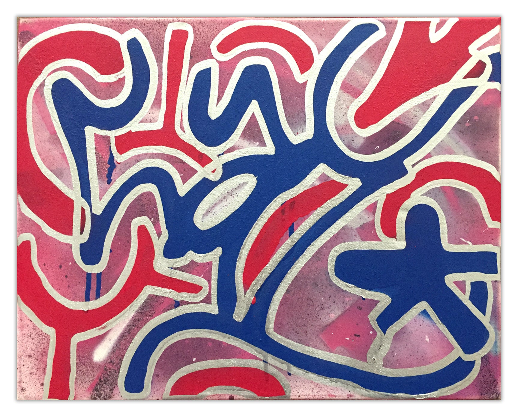 "LA II  - ""Tag"" Painting"