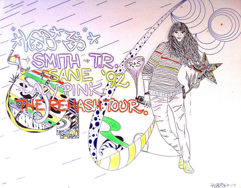 "LSD OM- ""The Re-Hash Tour""  Drawing"