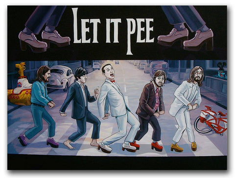 DAVE MACDOWELL - Let It Pee - Painting