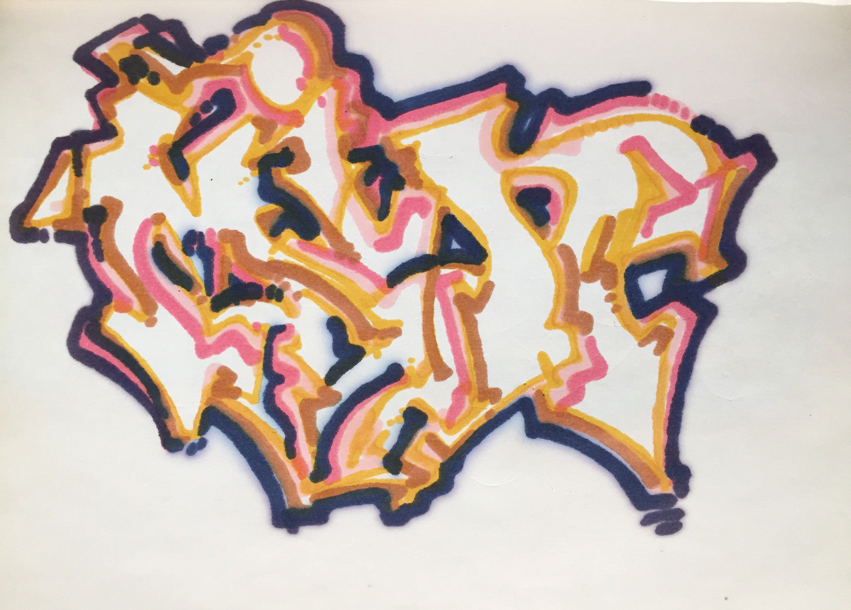 "MIN ONE -""Untitled  1984 "" BlackBook"