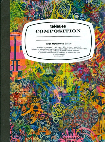 Ryan McGinness - Composition book