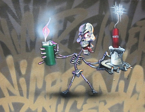 "NICER - Tats Cru  ""Bad Too Da Bone"""