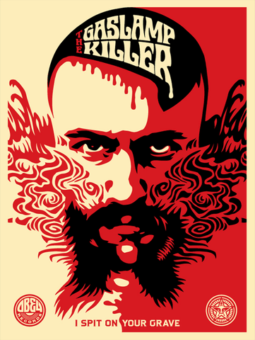 Shepard Fairey - Gas Lamp Killer