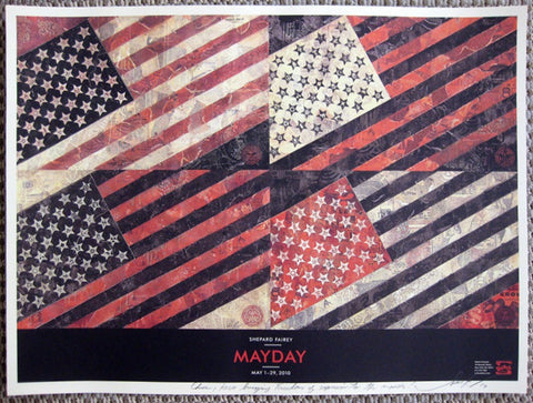 "SHEPARD FAIREY - ""May Day """