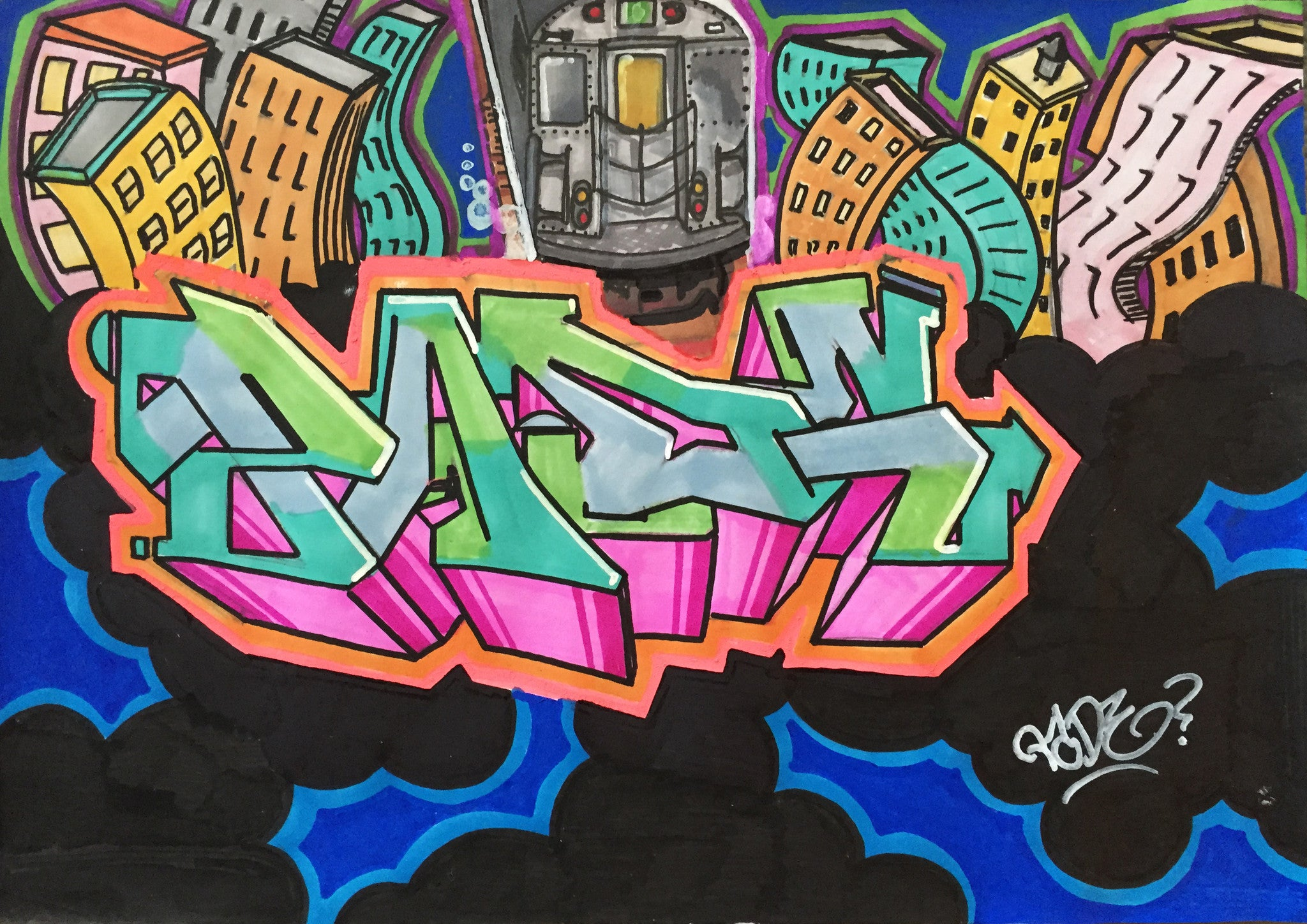 "PADE "" PADE "" Black Book Drawing"