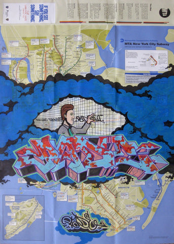 "PADE ""Untitled"" NYC Map"