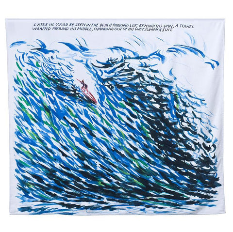 Raymond Pettibon - Limited Edition Print Beach Towel