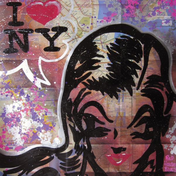 "QUIK - ""Jamie- I luv NY""  Map"