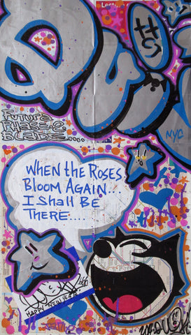 "QUIK - ""When the Roses Bloom"" Paris Map"