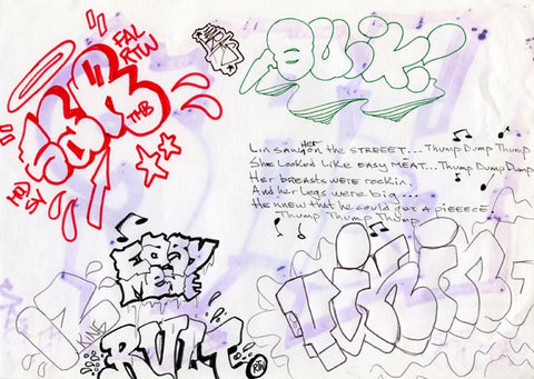 Black Book Page 1983, Various Artsist, Quik, IZ and others