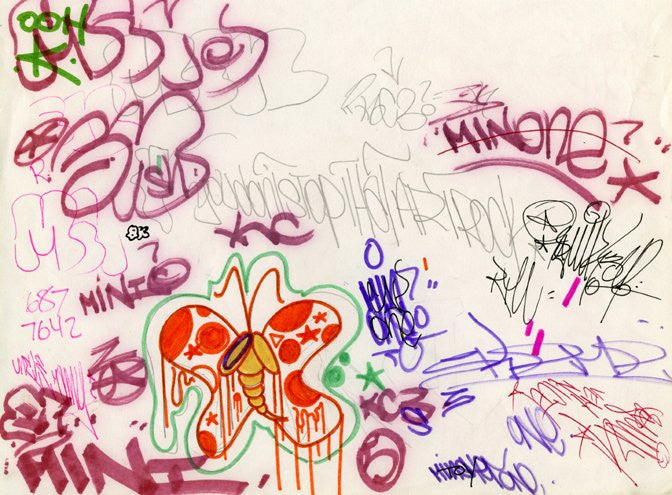 Black Book Page 1983, Various Artsist, Min, others