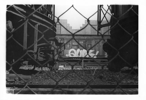 "Quik - photo 1980, Flushing Meadow Park ""MTA STRIKE"""