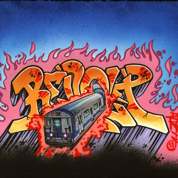 "Revolt  ""Train""  Drawing"