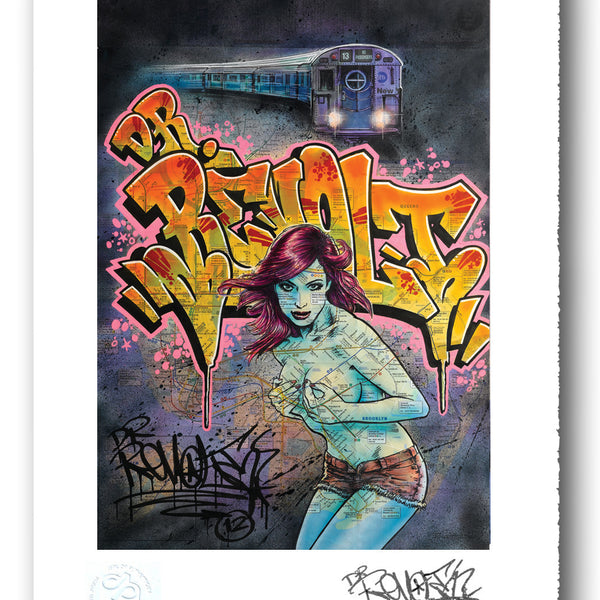 "REVOLT  - ""Miss Subway - Print"