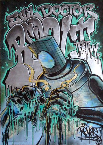 "REVOLT -  ""Nectar of the Titans""  NYC Map"