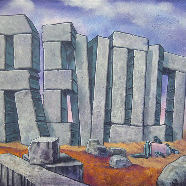 "REVOLT -  "" The Art of Revolt""  Painting"