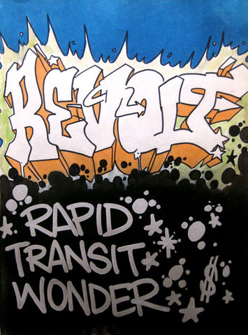 "REVOLT -  "" Rapid Transit""  Black Book piece 1982"