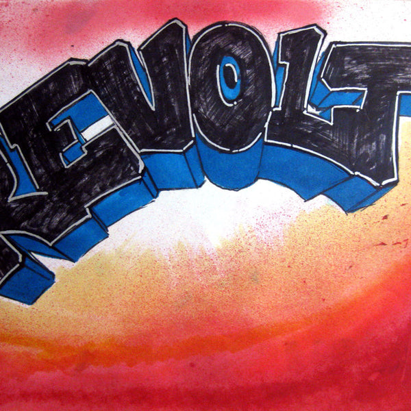 "REVOLT -  "" Untitled #7""  Black Book piece 1982"