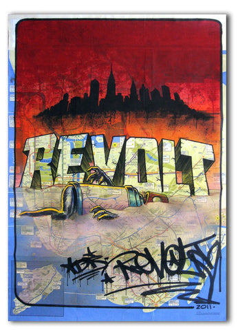 "REVOLT -  ""SandMan"" NYC Map"