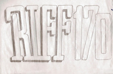"RIFF 170 - ""Untitled"" Pencil Drawing"