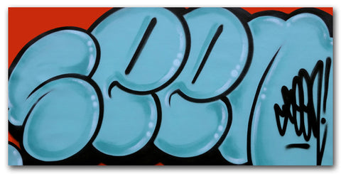 GRAFFITI ARTIST SEEN - Untitled 1 - Classic Bubble Painting