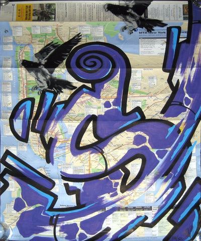 GRAFFITI ARTIST SEEN -  NYC Map