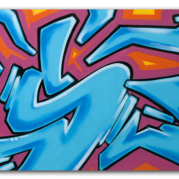 "GRAFFITI ARTIST SEEN  - ""Untitled"" Canvas"