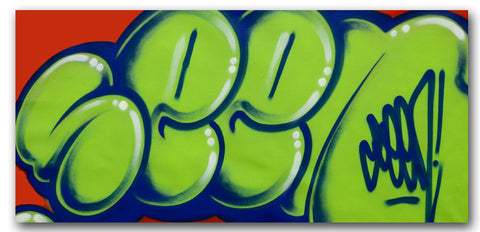 GRAFFITI ARTIST SEEN - Untitled 3 - Classic Bubble Painting