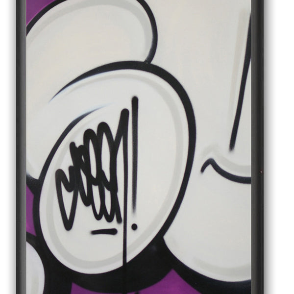 "GRAFFITI ARTIST SEEN -  ""Bubble #16""  Painting on paper"