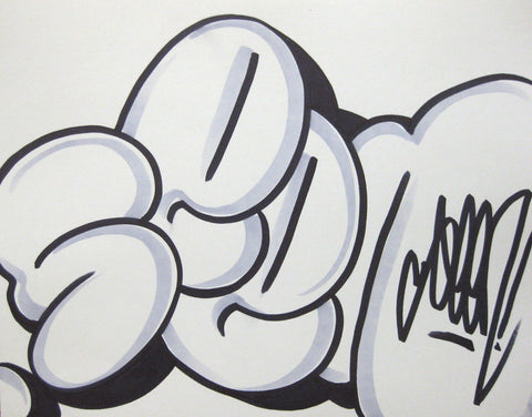 GRAFFITI ARTIST SEEN - Bubble 22- Drawing