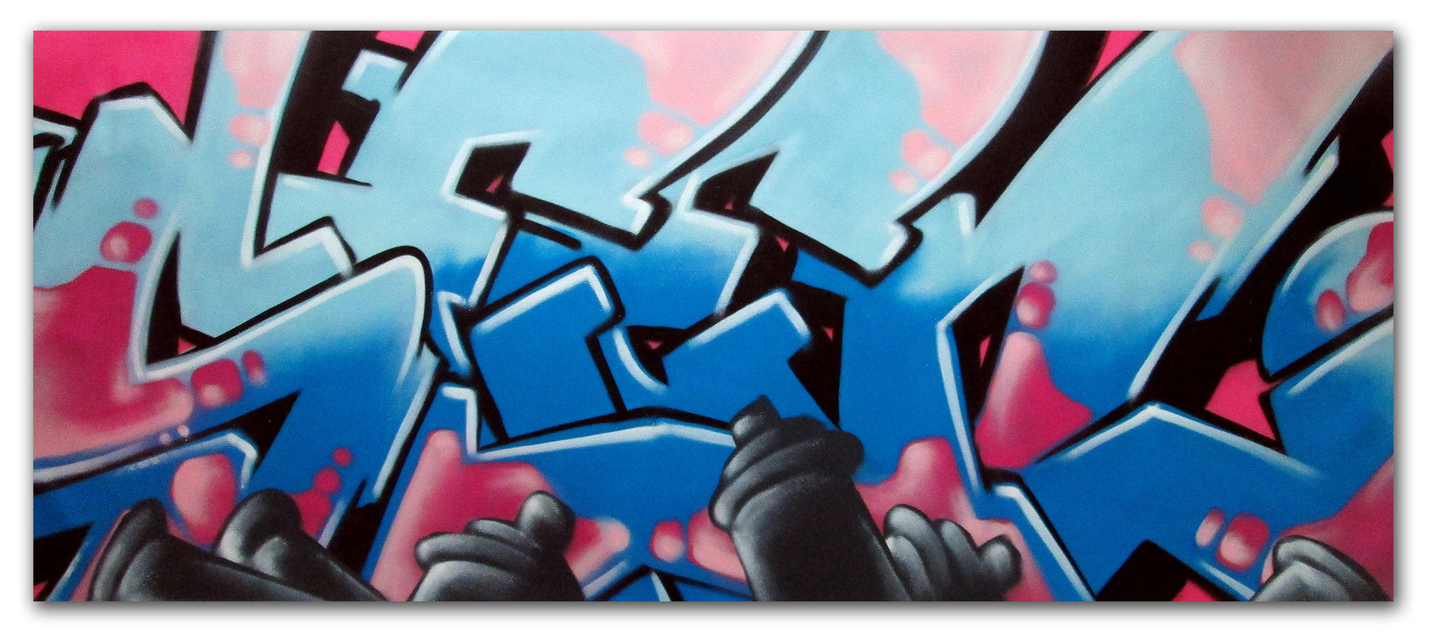 "GRAFFITI ARTIST SEEN -  ""SEEN 13""  Painting on Canvas"
