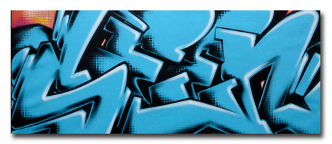 "GRAFFITI ARTIST SEEN -  ""SEEN 2""  Painting on Canvas"