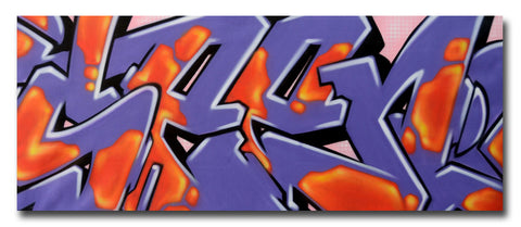 "GRAFFITI ARTIST SEEN -  ""SEEN 5""  Painting on Canvas"