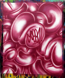 "GRAFFITI ARTIST SEEN  - ""Multi Bubbles"" Canvas"