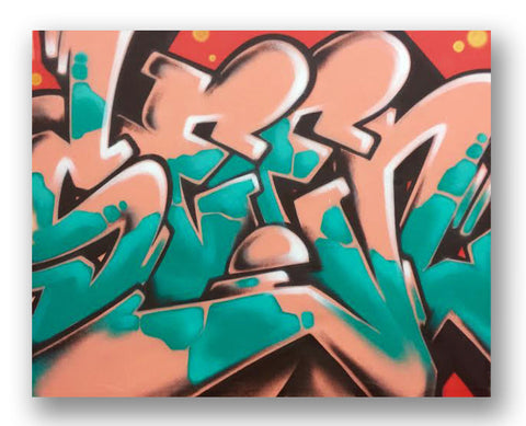 "SEEN - ""WildStyle"" Painting"