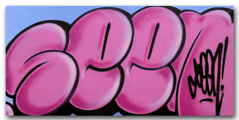 GRAFFITI ARTIST SEEN - Untitled 5 - Classic Bubble Painting