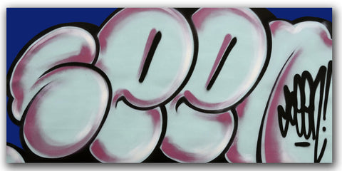GRAFFITI ARTIST SEEN - Untitled 2 - Classic Bubble Painting