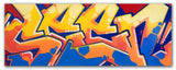 "GRAFFITI ARTIST SEEN -  ""SEEN Wildstyle""  Aerosol  on  Canvas"