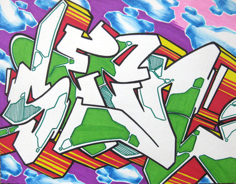 GRAFFITI ARTIST SEEN - WildStyle 28- Drawing