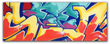 "GRAFFITI ARTIST SEEN -  ""Wild Style""  Aerosol on Canvas"