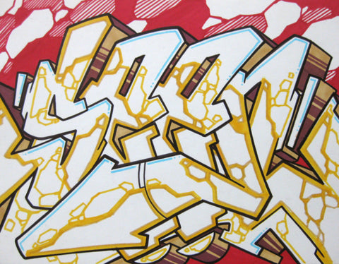 GRAFFITI ARTIST SEEN - WildStyle 39- Drawing