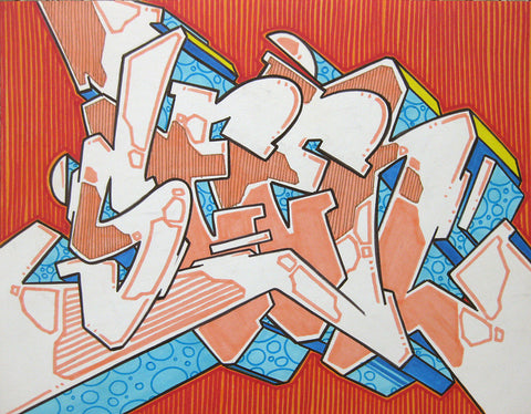 GRAFFITI ARTIST SEEN - WildStyle 46- Drawing