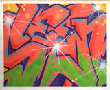 "SEEN   ""Wildstyle 19""  Aerosol on Canvas"