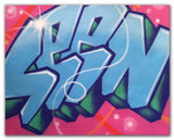 "SEEN -""Wildstyle 9"" Aerosol on Canvas"