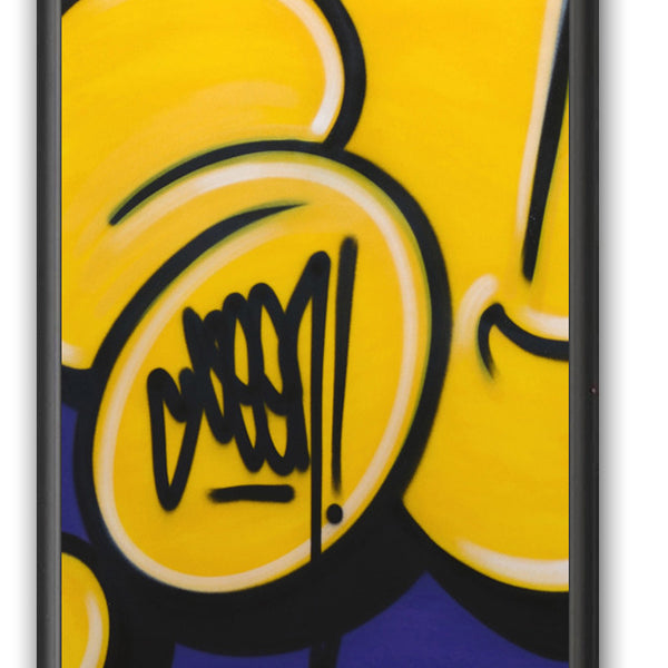 "GRAFFITI ARTIST SEEN -  ""Bubble #15""  Painting on paper"